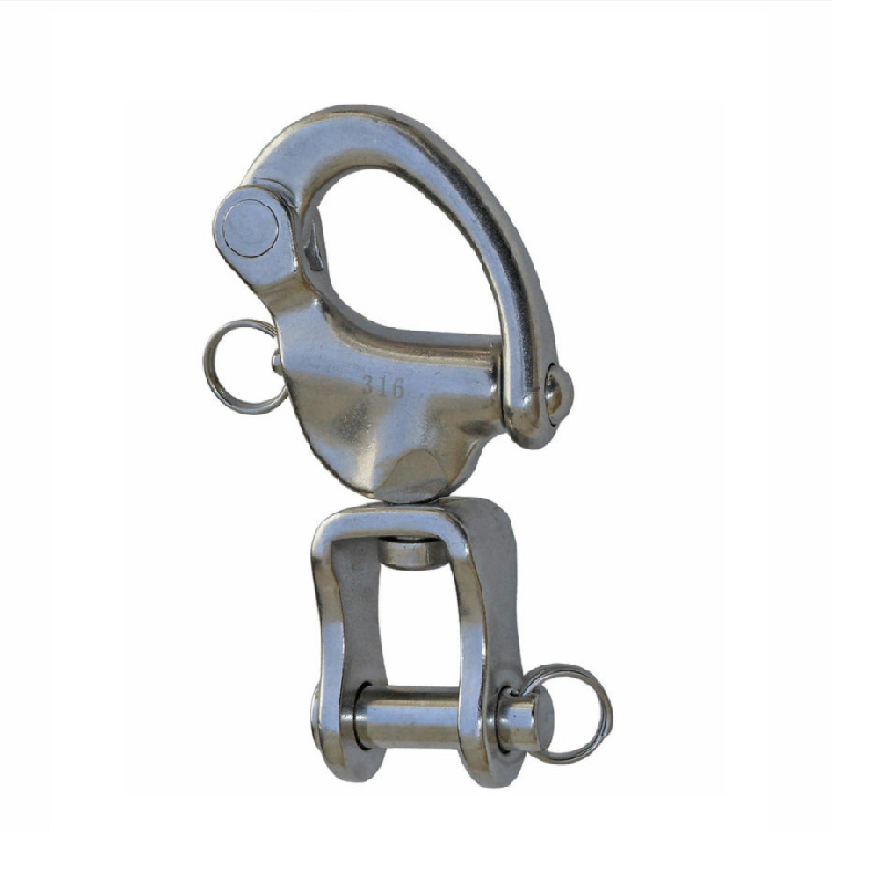 Snap Shackle With Swivel Jaw