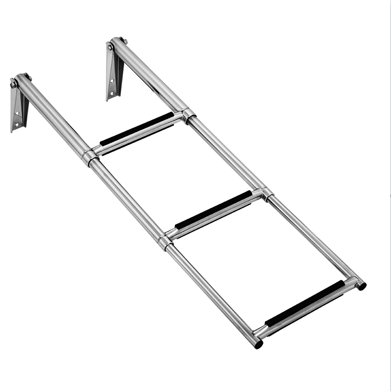 3-Step Over Platform Telescoping Ladder