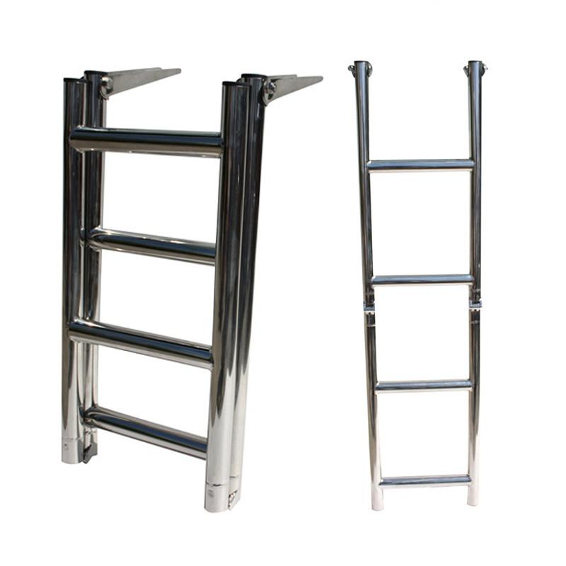 4-Step Over Platform Telescopic Ladder