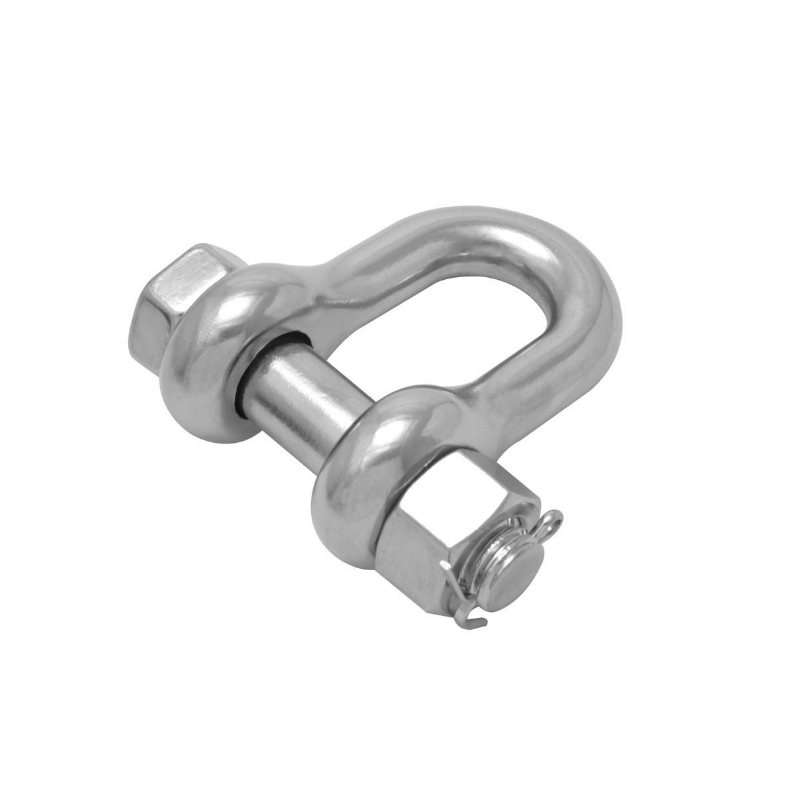 US Security D Shackle - Bolt Chain Shackle